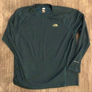 North face Long-Sleeved T-shirt Flashdry